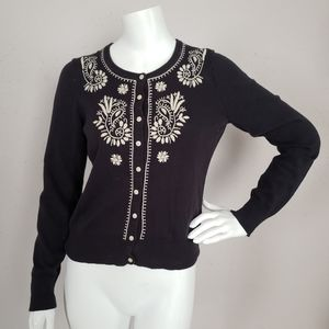 Lucky Brand Black Sweater Women Size S
